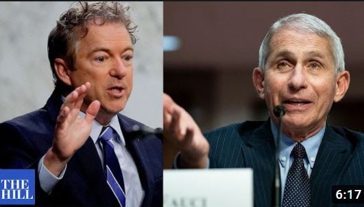 Vid – Rand Paul: Fauci's 'One-Size-Fits-All' Approach on Vaccine Based on 'Regular People Aren't Smart Enough' to Make Decisions